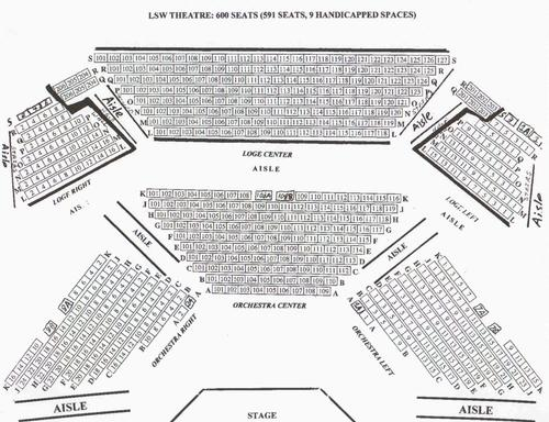 LSW Auditorium Map